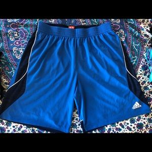 Men's adidas basketball shorts 2XL